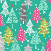Dashwood Studio Christmas Dreams - 4057 - Christmas Trees - CHDR 1109 - Cotton Fabric